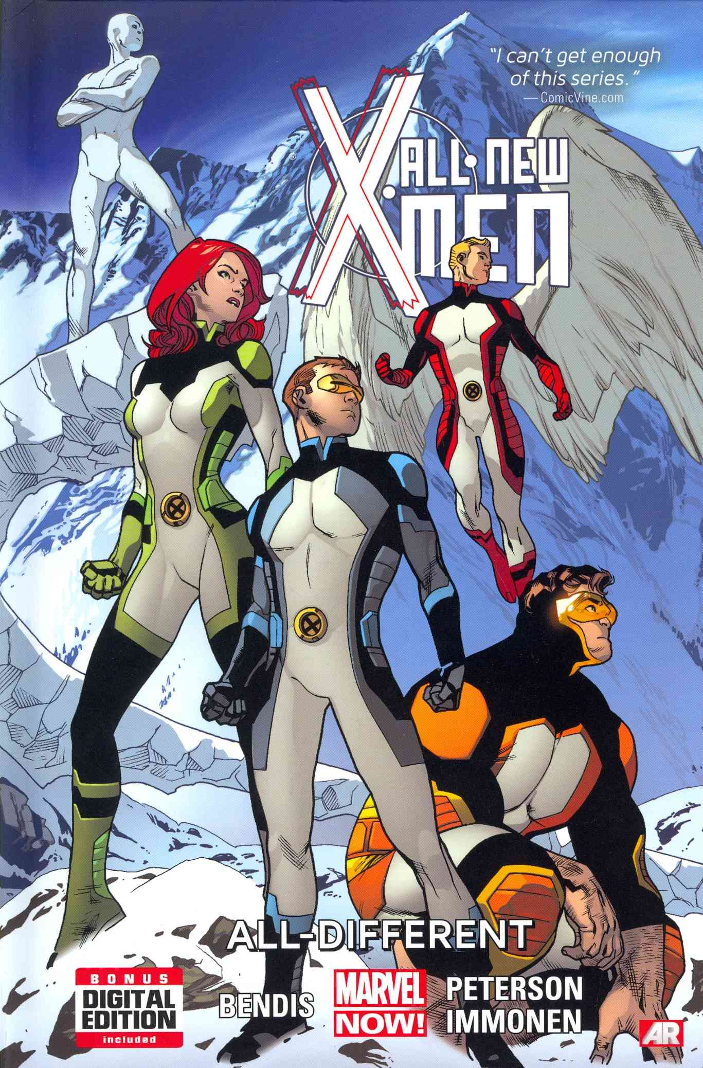 All-New X-Men 4 By Bendis, Brian Michael/ Peterson, Brandon (ILT)